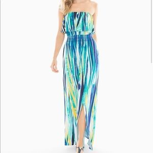 Soma Strapless maxi dress with pockets